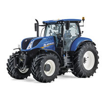 Power-shift tractor / continuously variable / front PTO / with cab
