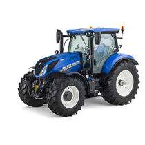 Power-shift tractor / continuously variable / front PTO / with front-loader