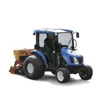 Continuously variable tractor / compact / with cab