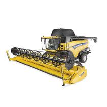 Drum threshing combine harvester / grain