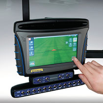 Crop input controller / GPS / with screen / on-board