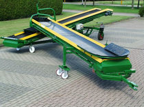 Potato conveyor / for fruit / for vegetables / belt