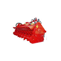 Mounted mulcher / hammer / with pick-up rotor