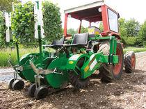 Lettuce transplanter / tomato / mounted / mechanical