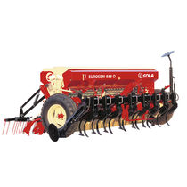 Mechanical seed drill / tractor-mounted / tine