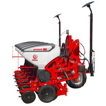Tractor-mounted precision seed drill