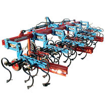 Mounted row crop cultivator / weeding / depth control