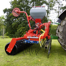Pneumatic seed drill / tractor-mounted / cultivator-mounted