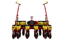 6-row precision seed drill / trailed / disc