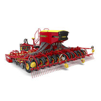 Pneumatic seed drill / trailed / tine / direct