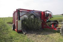 Small farm sprayer / for arboriculture / trailed / with anti-drift panel