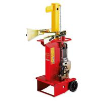 Electric wood splitter / wheeled / vertical