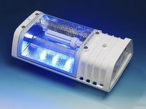 Poultry house lighting / LED / sodium / blue