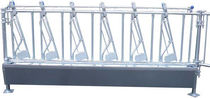 Calf feeder panel / standard / adjustable / tubular