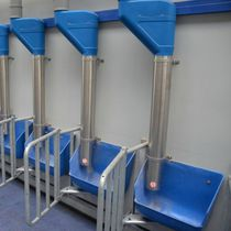 Feed dispenser / for calves / for cows / semi-automatic