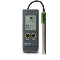 Temperature analyzer meter / pH / portable
