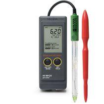Soil analyzer meter / temperature / pH / portable