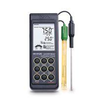 Temperature analyzer meter / pH / water potential / portable