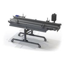 Fruit conveyor / for vegetables / belt / mobile