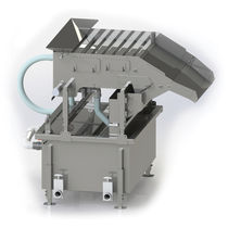 Berry crop cleaning machine