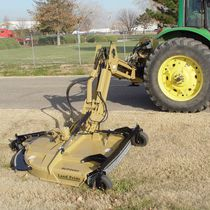 Landscaping rotary cutter / side-mount / PTO-driven