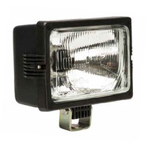 Halogen floodlight / for agricultural vehicles