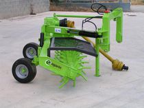Stone rake / rotary / side delivery