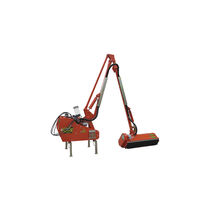 Mounted reach mower / flail