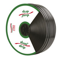 Drip line / polyethylene / flat / dual-side delivery
