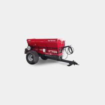 Trailed fertilizer spreader / solid / lime / salt