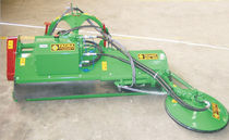 Mounted mulcher / disc / PTO-driven / hydraulic