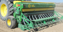 Mechanical seed drill / tractor-mounted / tine / 3-point hitch