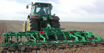 Mounted field cultivator / 3-point hitch / chisel / folding