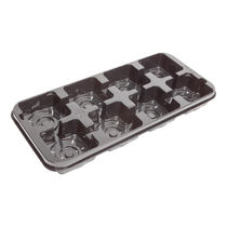 Plastic carry tray / square