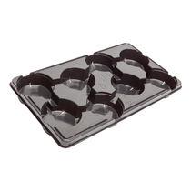 Plastic carry tray / round