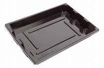 Plastic carry tray