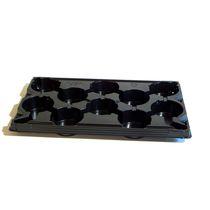 Plastic transport tray / rectangular