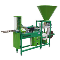 Semi-automatic tray filler / for biodegradable pots