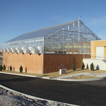 Multi span greenhouse / research / rooftop