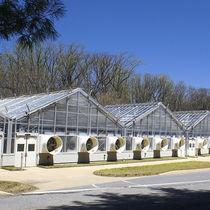 Multi span greenhouse / research