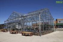 Multi span greenhouse / gardening / glass