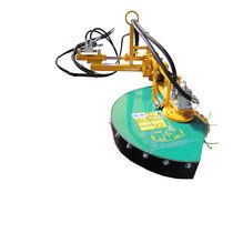 Mechanical stem brush / with hydraulic adjustment
