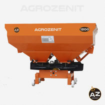 Mounted fertilizer spreader / anhydrous / centrifugal / double-disc
