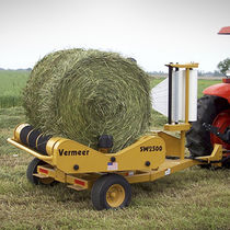 Individual bale wrapper / round / trailed