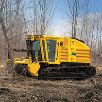 Utility tractor / forestry / with cab