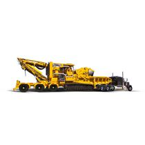 Diesel wood chipper / trailed / tracked