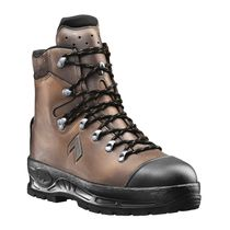 Safety work boots / leather / waterproof / cut protection