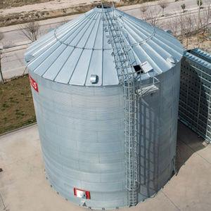 Grain Silo / Galvanized Steel / Flat Bottom