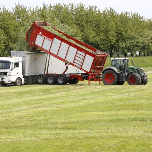 dump trailer / 3-axle / sugar beet / vegetables