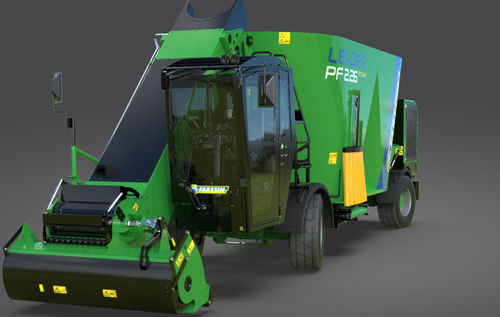vertical mixing wagon / self-propelled